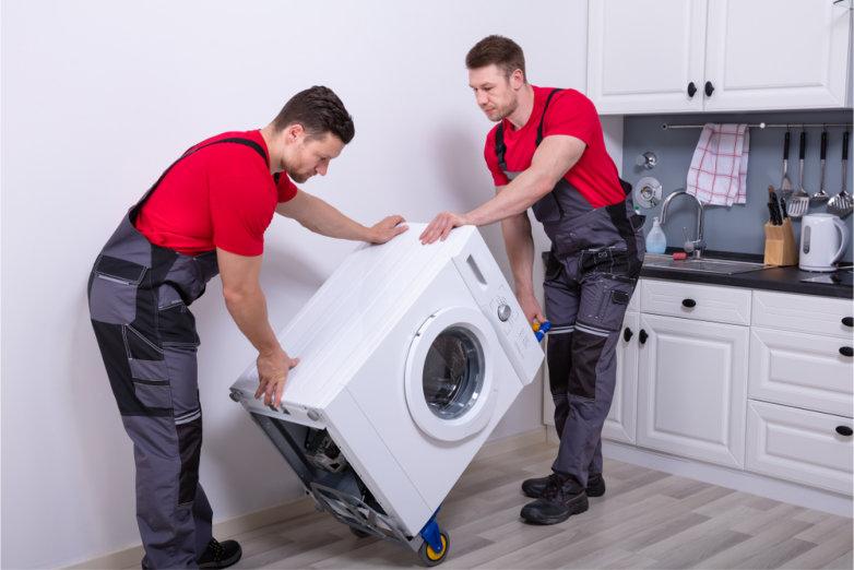 Umzug mit Waschmaschine - worauf Sie achten müssen